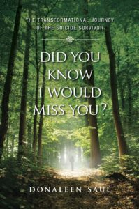 Front cover of the book, Did You Know I would miss you, by Donaleen Saul